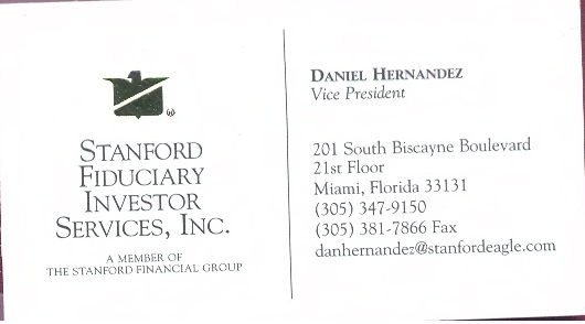 Daniel Hernandez Business Card