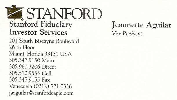 Jeannette Aguilar Business Card