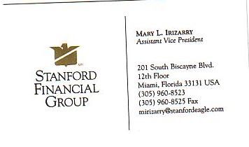 Mary L. Irizarry Business Card