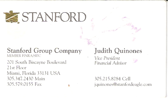 Judith Quinones Business Card